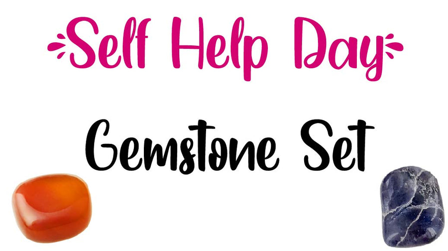 Self Help Day Gemstone Pocket Stone Set