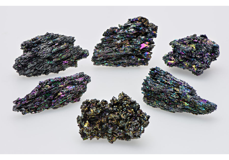 Silicon Carbide Carborundum Gemstone Clusters