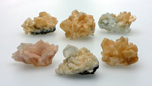 Stilbite Gemstone Cluster