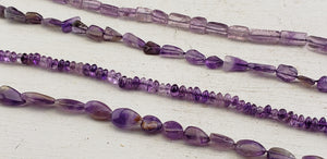 Amethyst Polished Bead Strands
