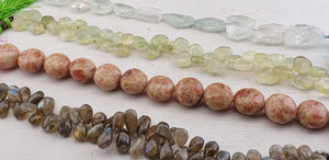 Random Gemstone Bead Strands