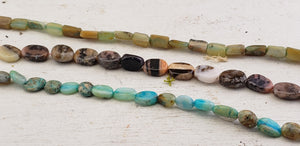 Opal Polished Bead Strands