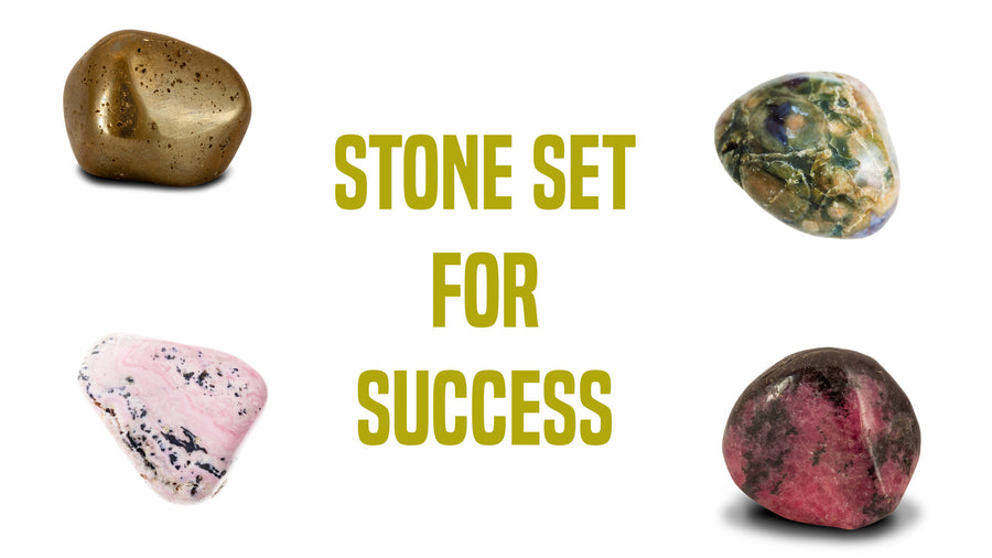 Success Gemstone Pocket Stone Set