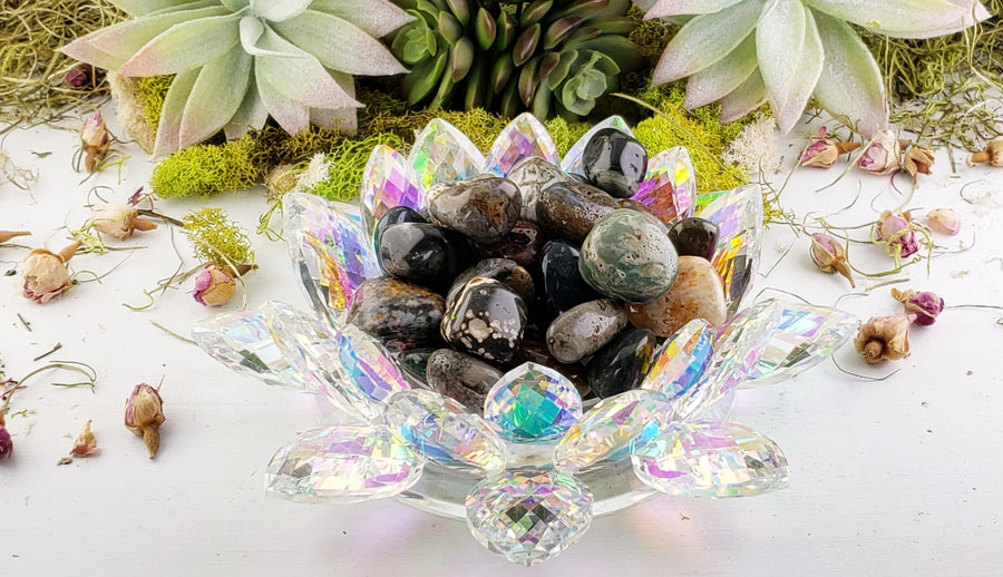 Ocean Jasper Natural Gemstone- Stone Of The Zodiac Stones