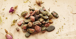 Unakite Gemstone Tumbled Polished Gemstones