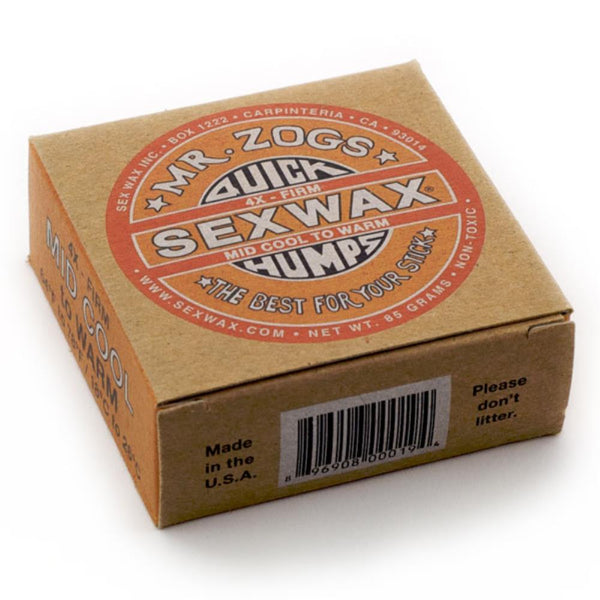 Mr. Zogs QUICK HUMPS SURFBOARD WAX