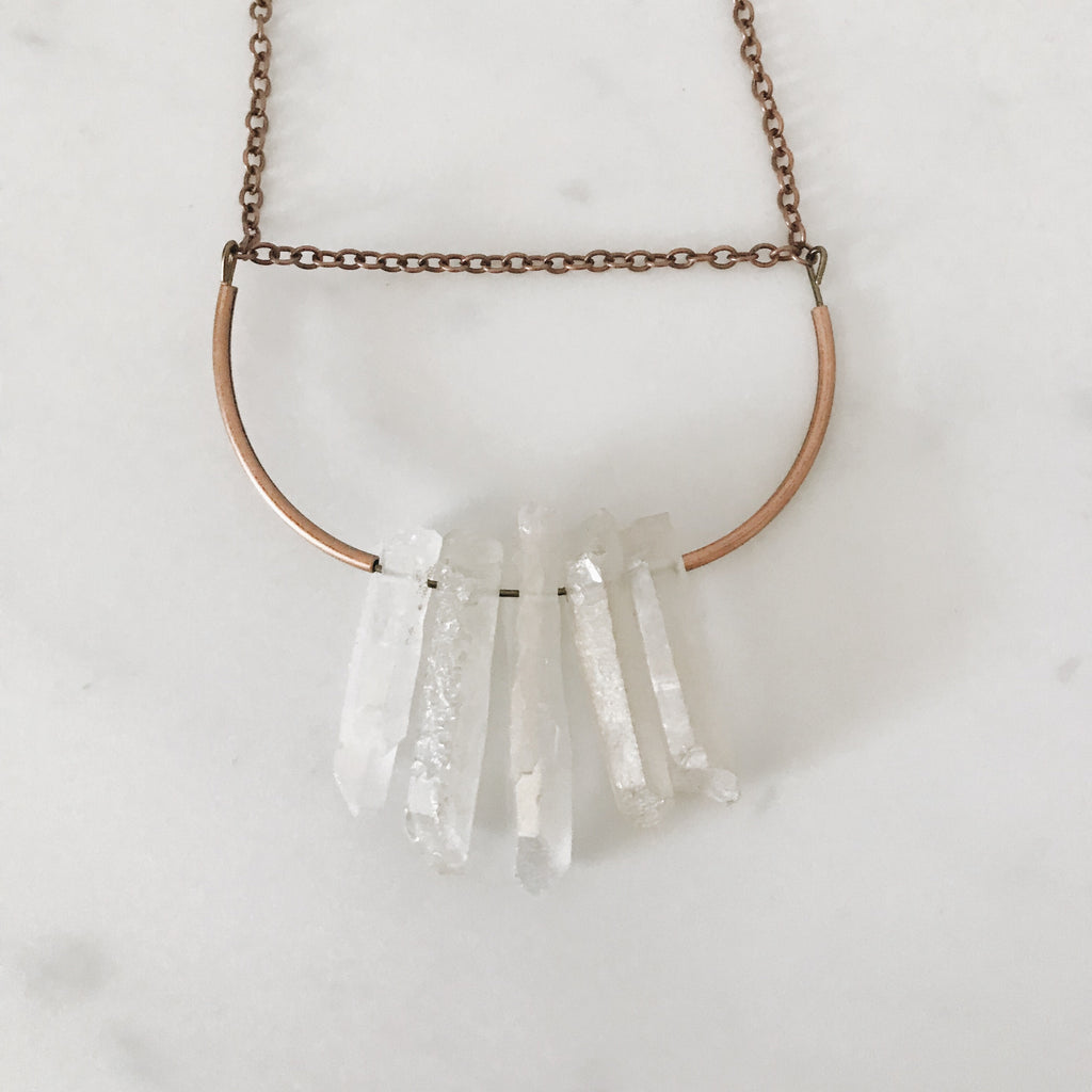 Alexandra Necklace, White