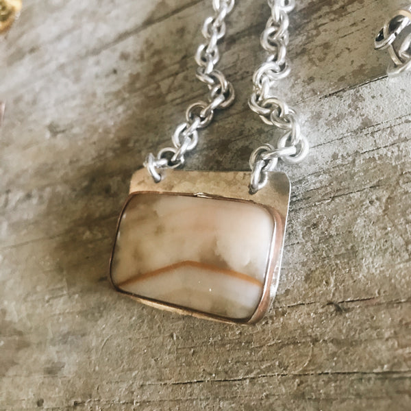 Cream Jasper Necklace