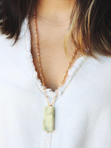 Jade Marble Necklace