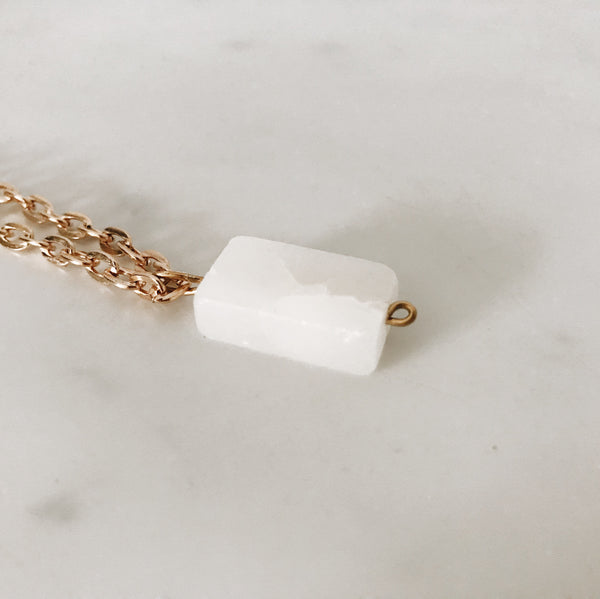 Italian Onyx Marble Necklace