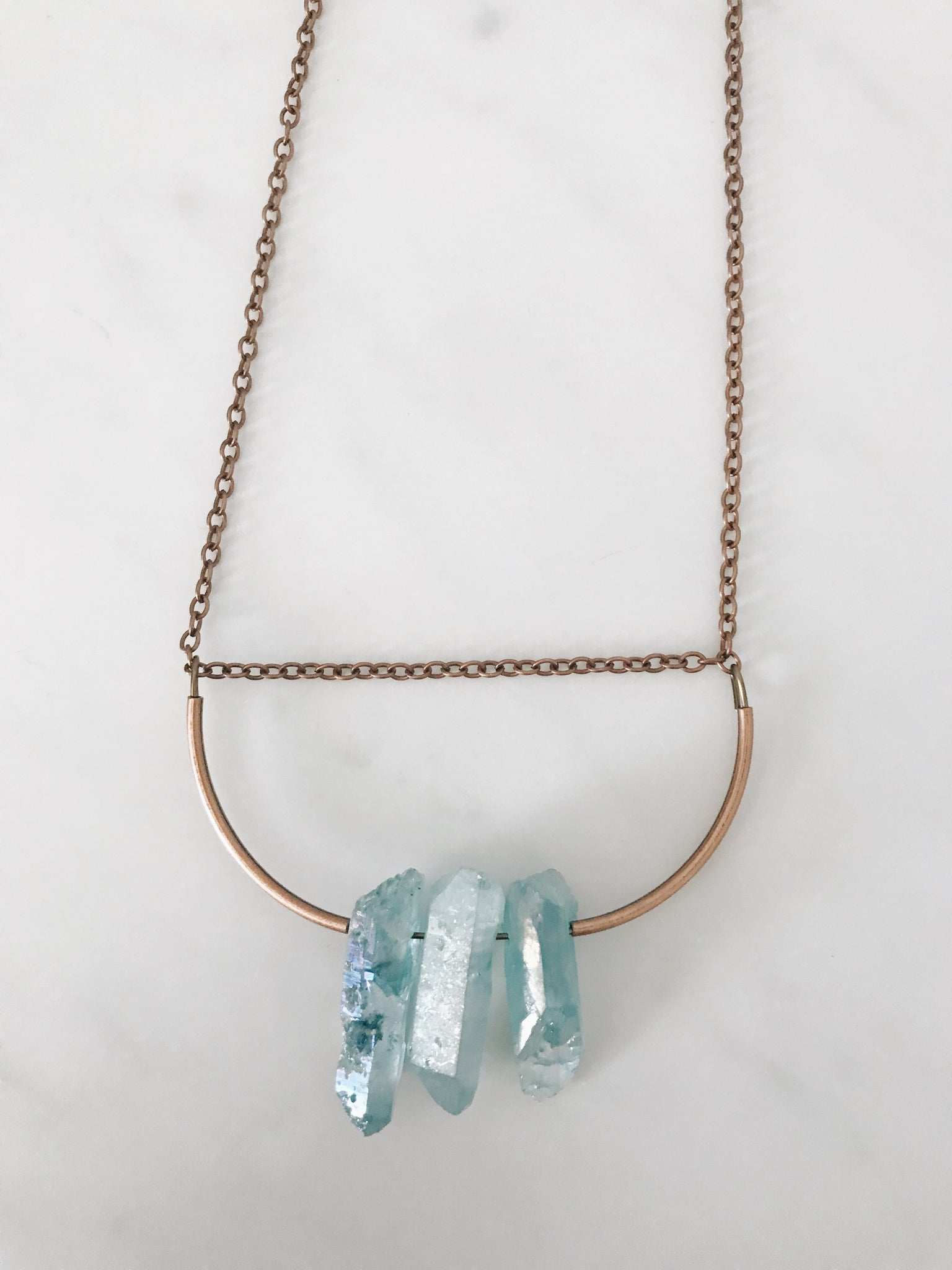 Alexandra Necklace, Blue
