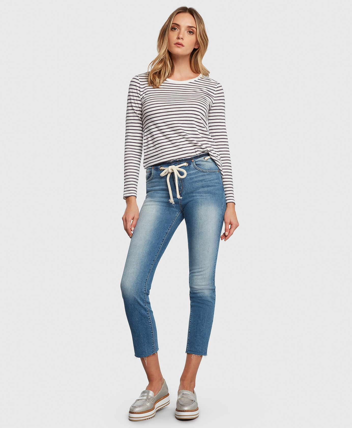 Principle CASTAWAY in Holiday cropped jeans