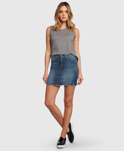 Principle CHARMER in Bad Romance denim skirt