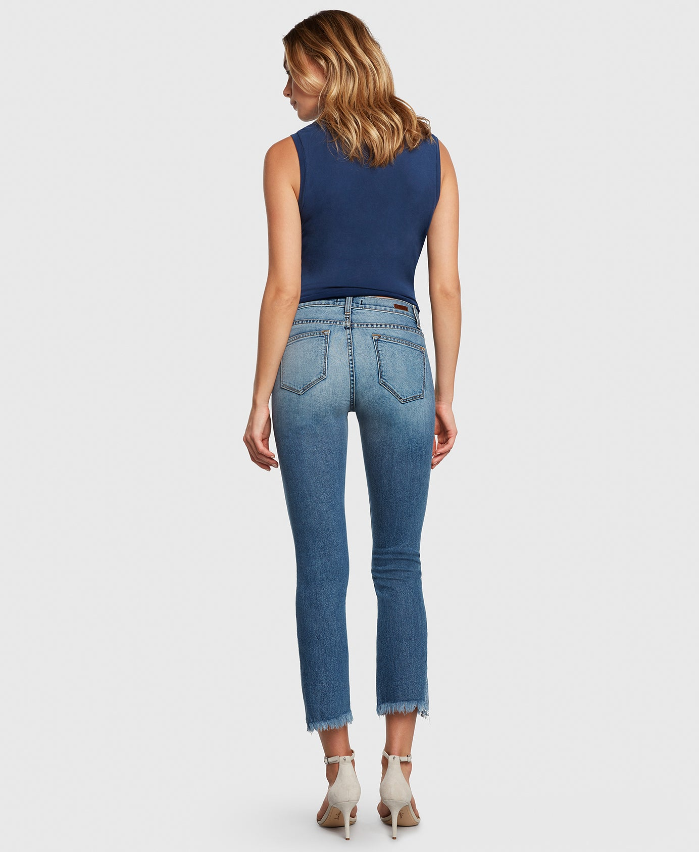 Principle Jeans DARE in Holiday cropped flare back