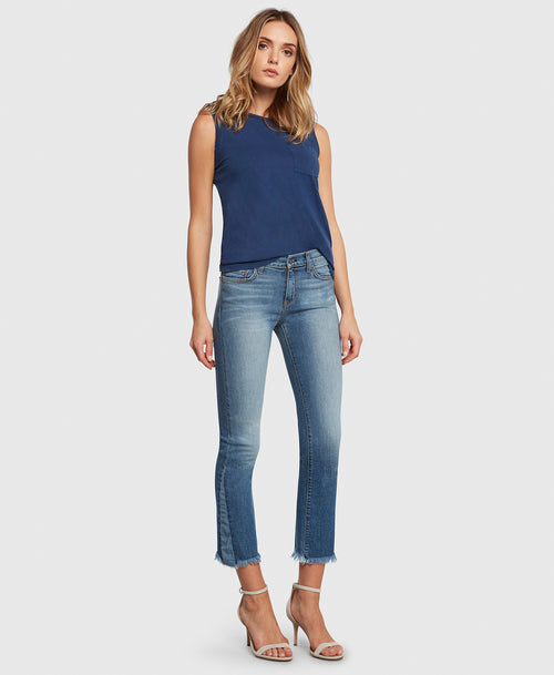 Principle Jeans DARE in Holiday cropped flare