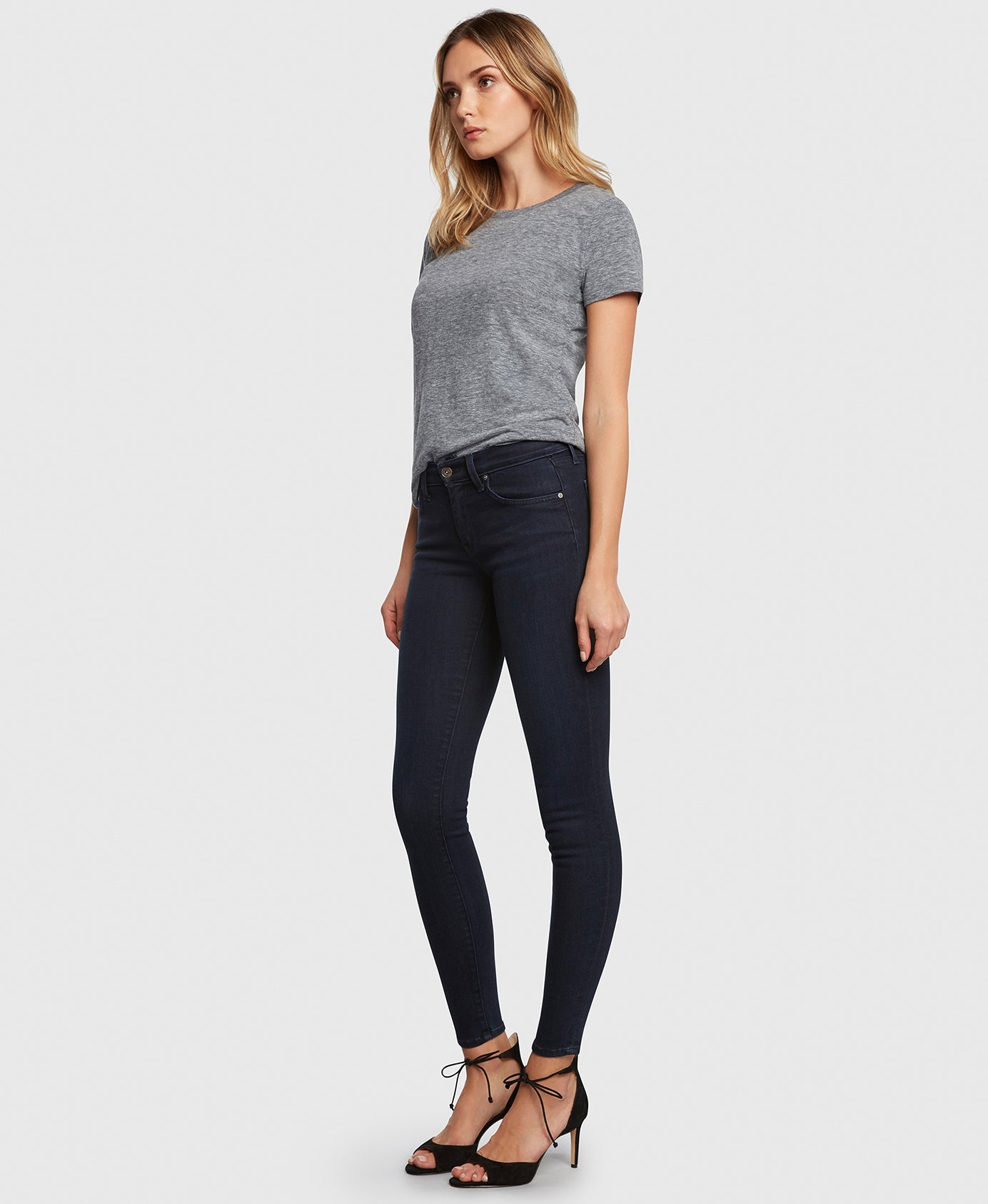 Principle DREAMER in At Last dark wash skinny jeans side