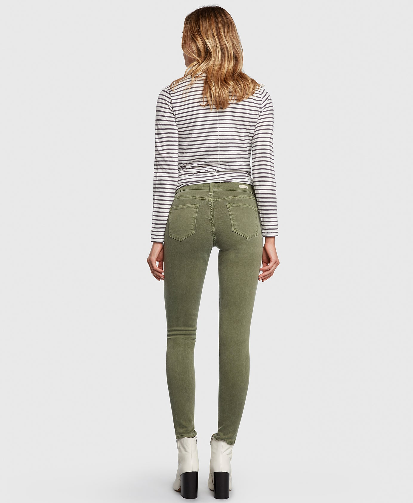 Principle Women's Jeans DREAMER in Eden green back