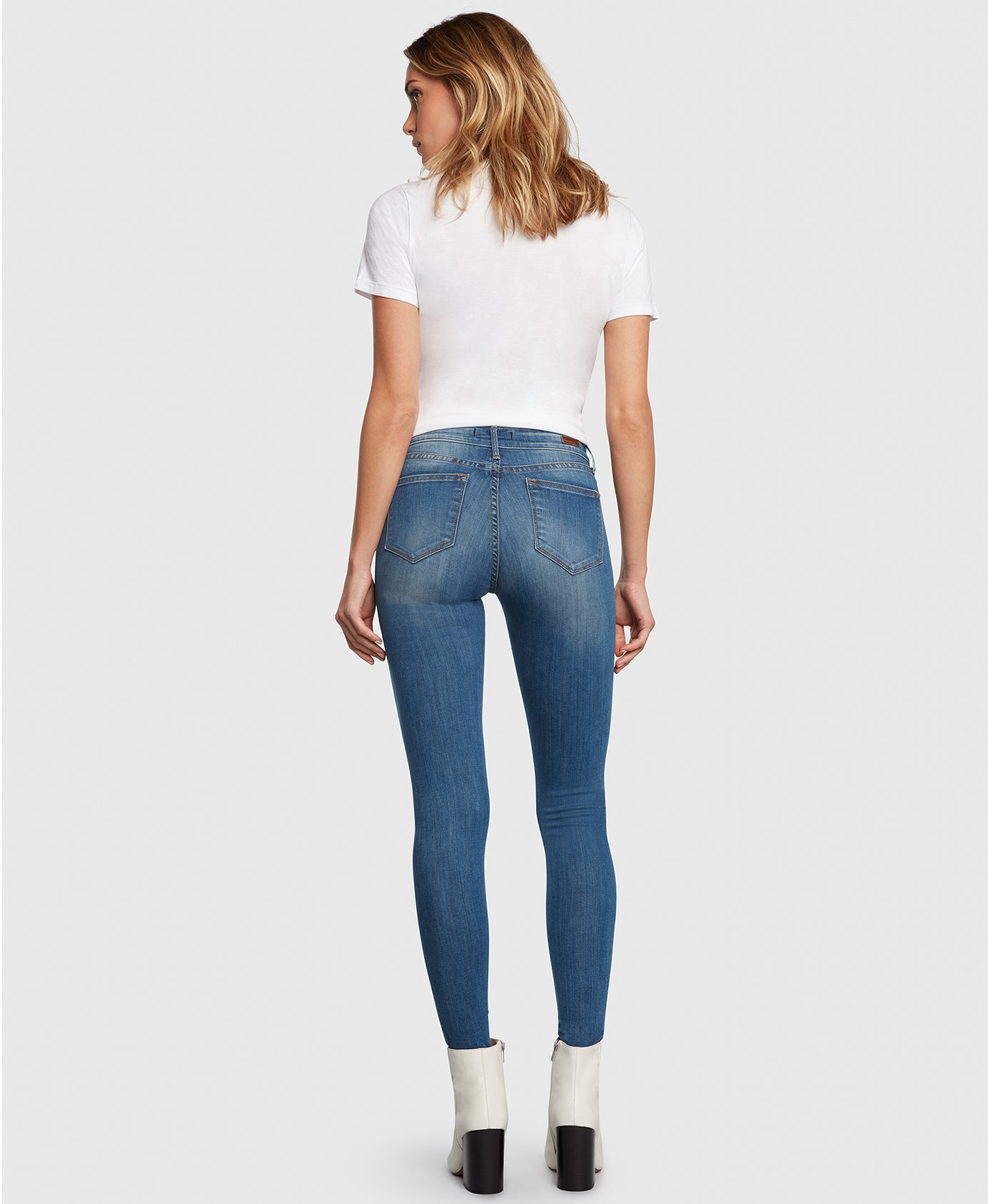DREAMER in Escapade Principle Denim skinny jeans back