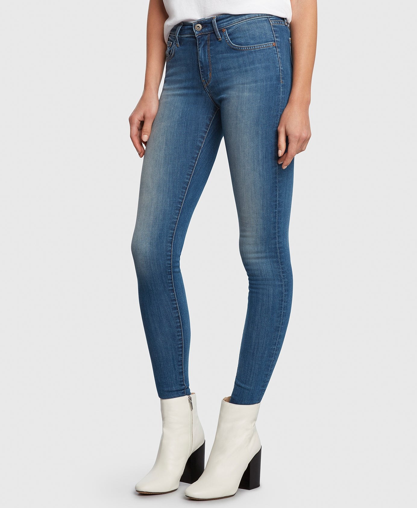 DREAMER in Escapade Principle Denim skinny jeans detail