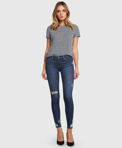 Principle DREAMER in Fastlane skinny jeans with holes