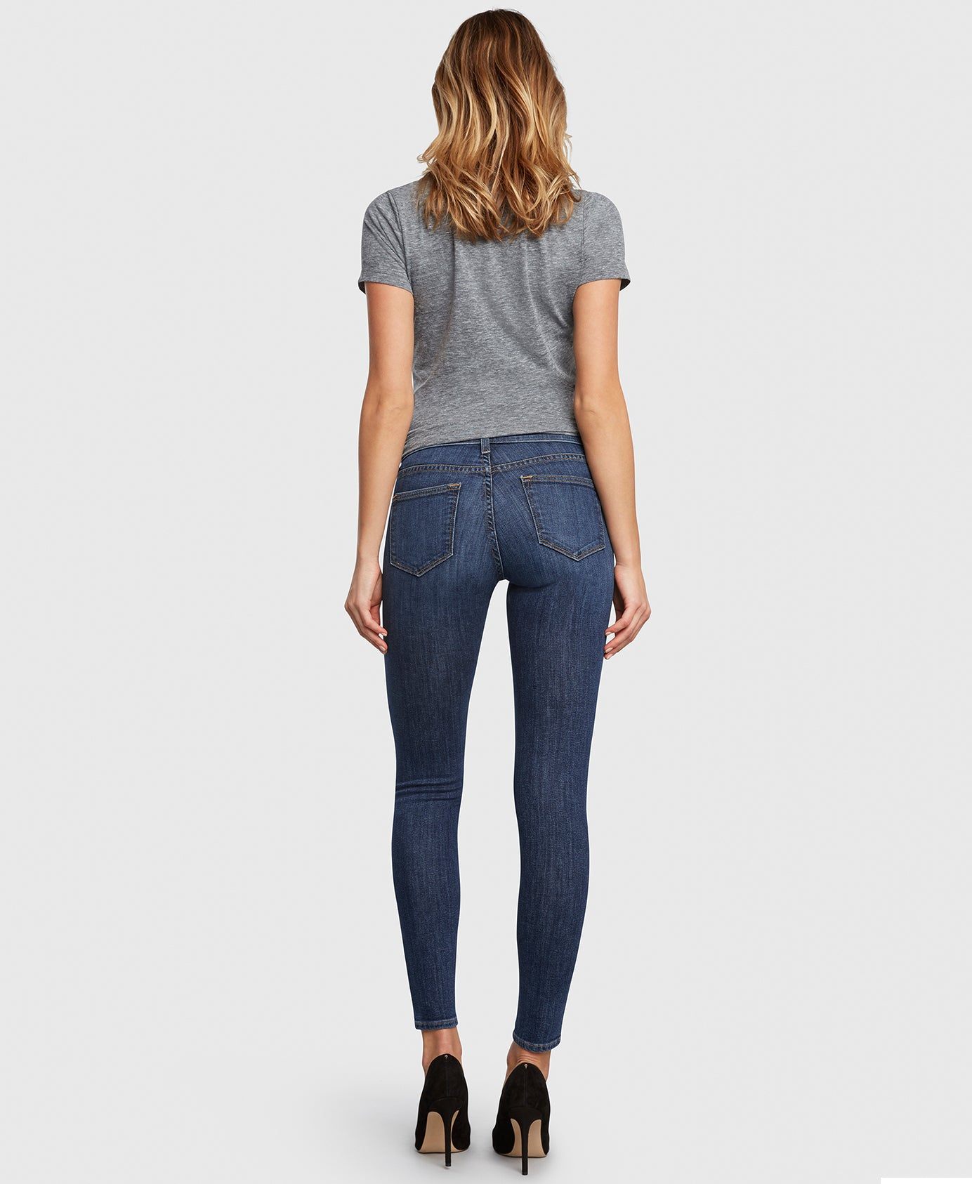 Principle DREAMER in Fastlane skinny jeans with holes back