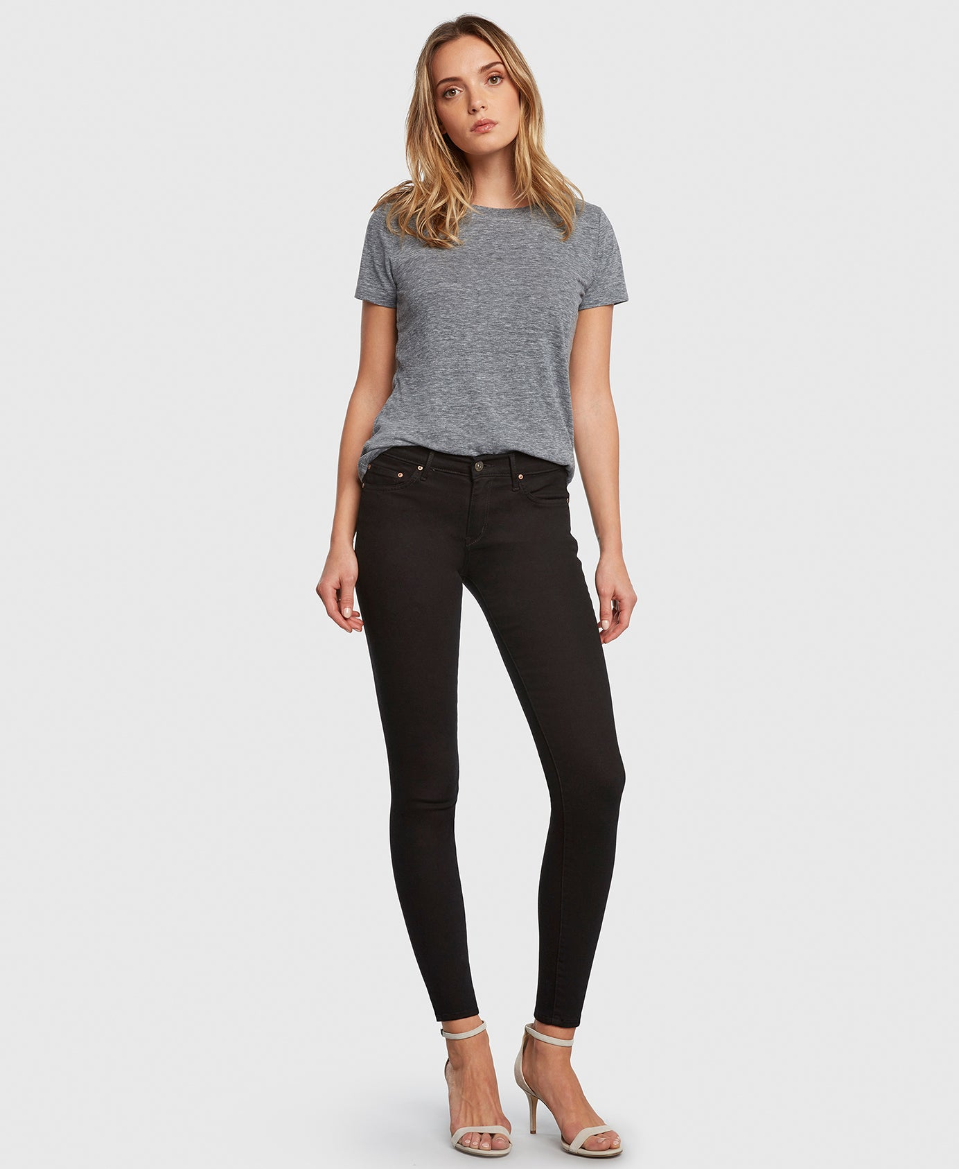 Principle DREAMER in Painted Black flattering skinny jeans