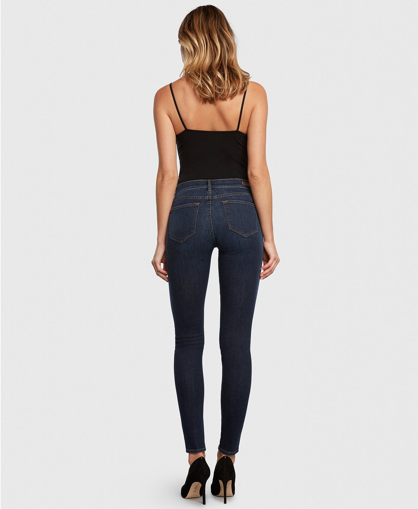 Principle DREAMER in Poison Heart dark wash skinny jeans back
