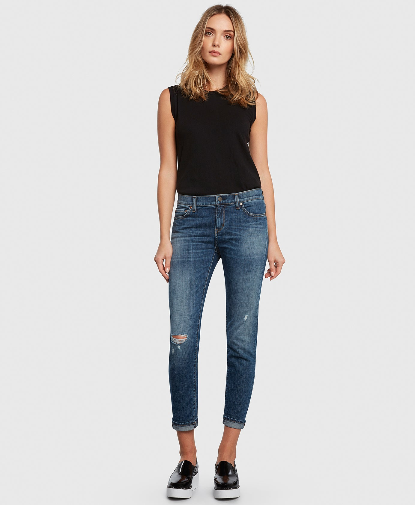 Principle FAVORITE in Movin' On boyfriend jeans