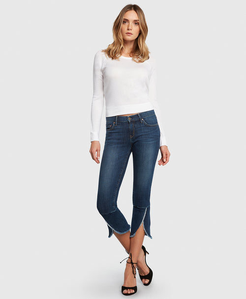 Principle FLIRT in Promise cropped jeans