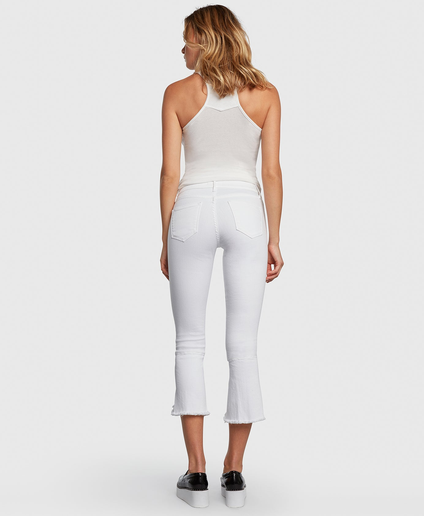 Principle FLIRT in Promise cropped jeans back