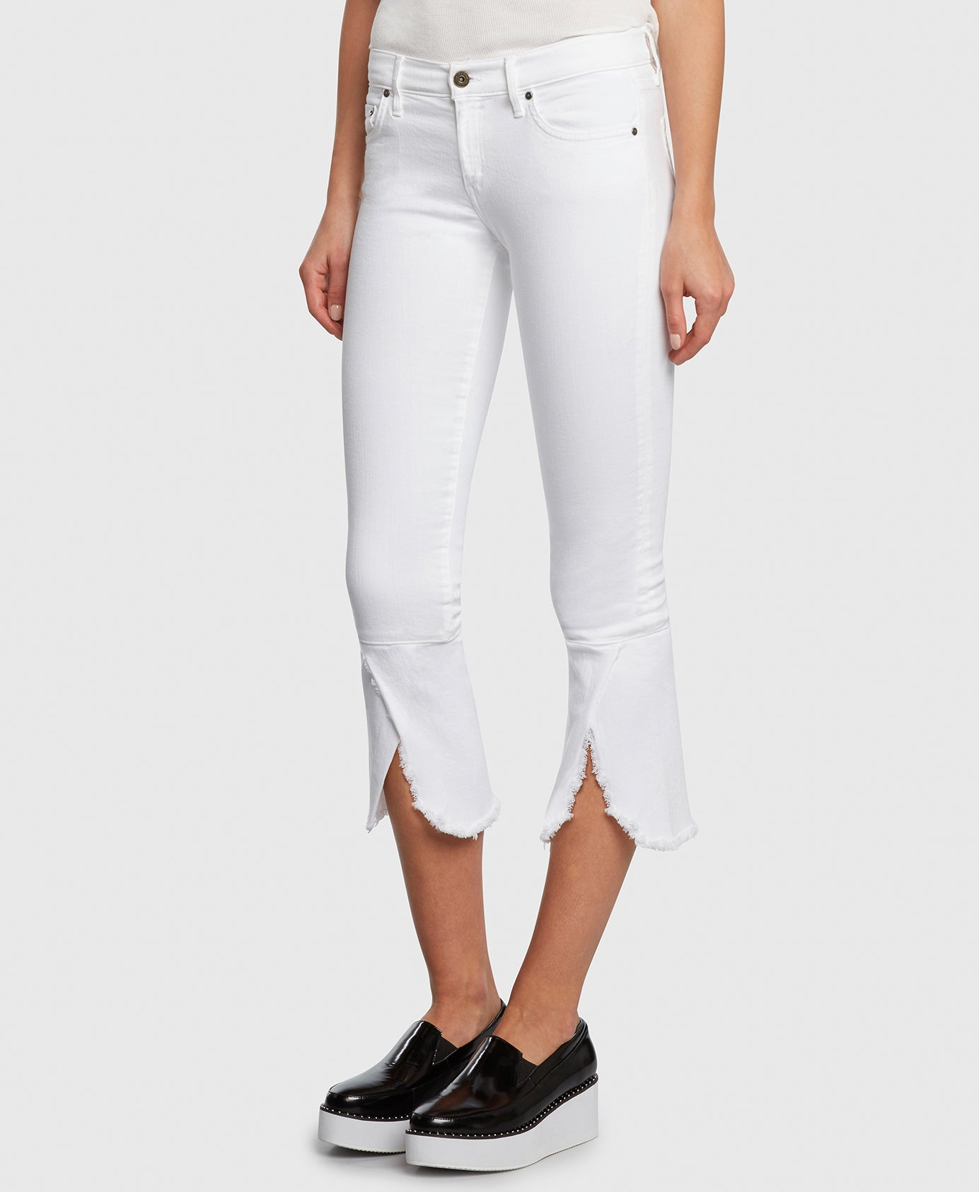 Principle FLIRT in Promise cropped jeans detail