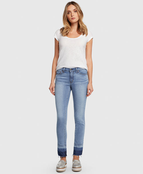Principle FREEDOM in Love Me Tender straight leg jeans