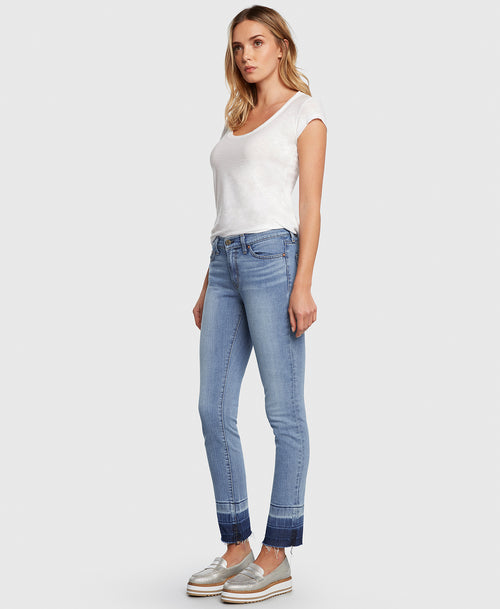 Principle FREEDOM in Love Me Tender straight leg jeans side