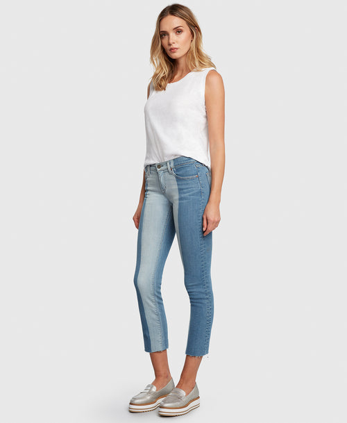 Principle OPTIMIST in Memory Lane two-tone denim side
