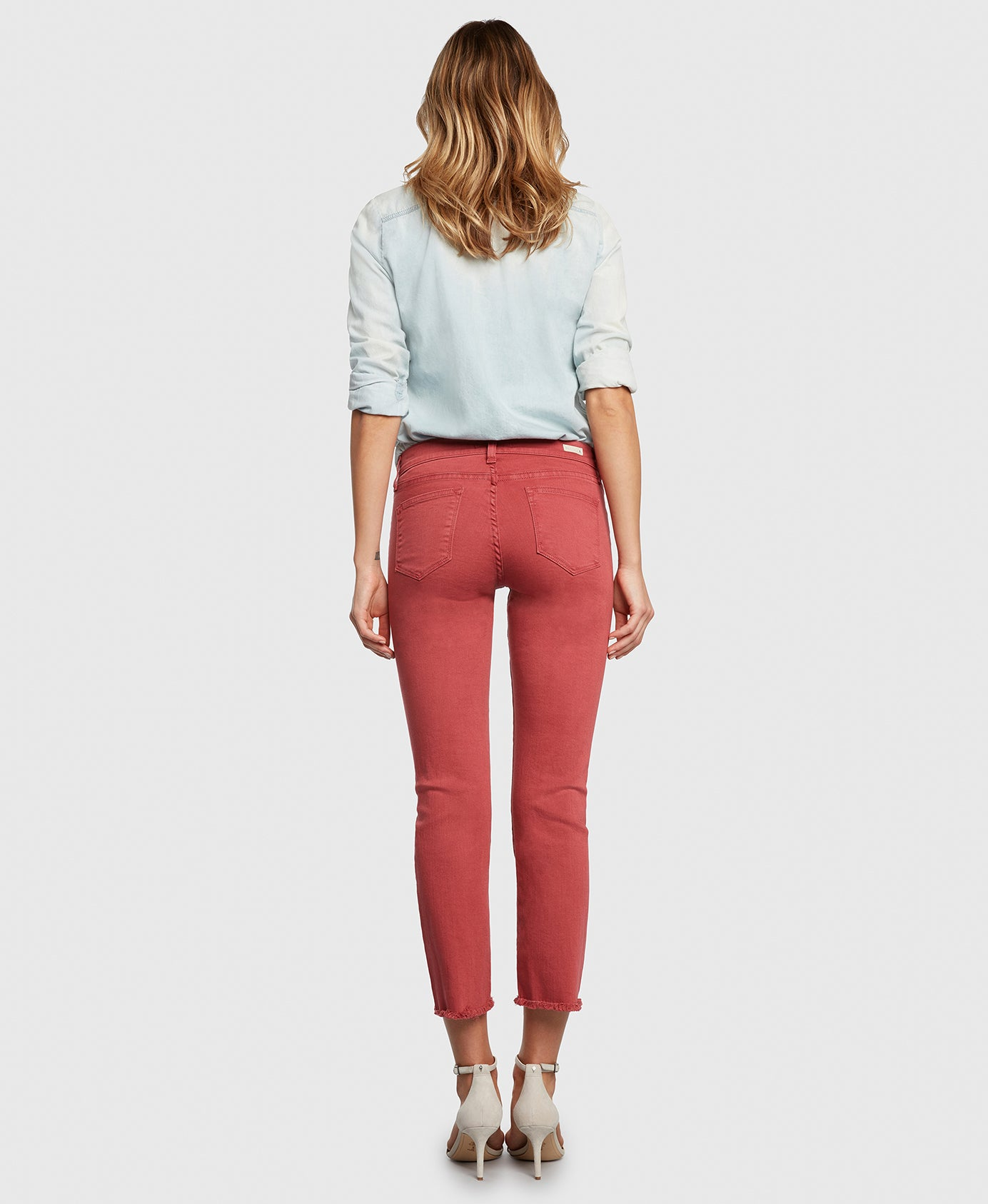 Principle OPTIMIST in Nantucket red denim back