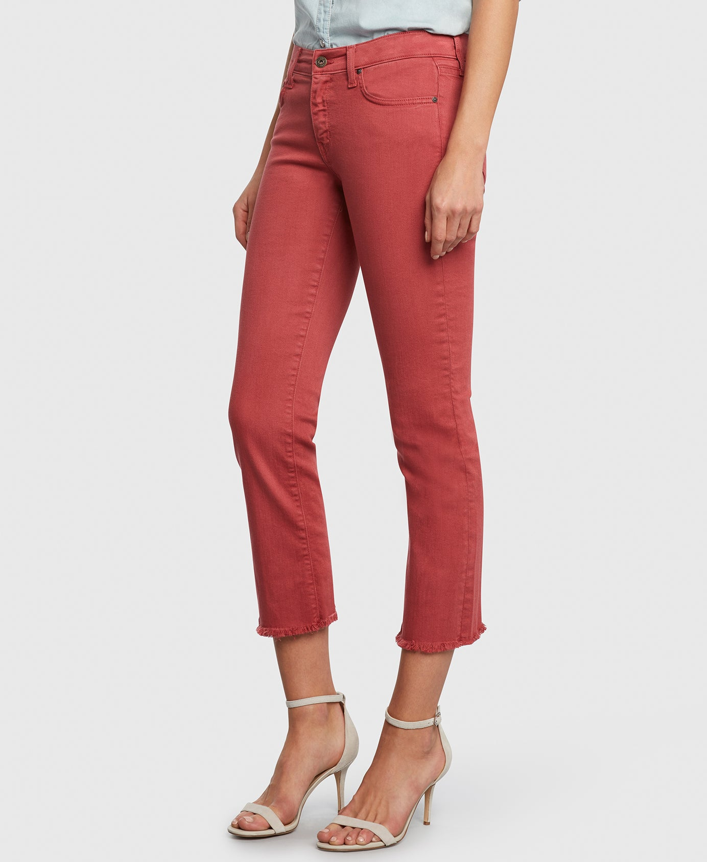 Principle OPTIMIST in Nantucket red denim detail