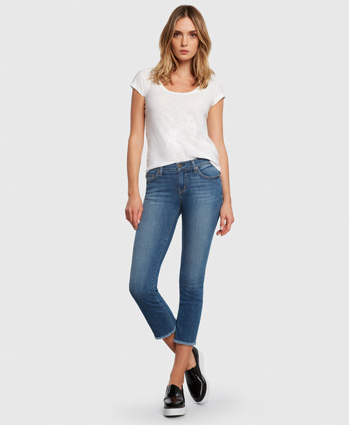 Principle OPTIMIST in Summerland cropped jeans
