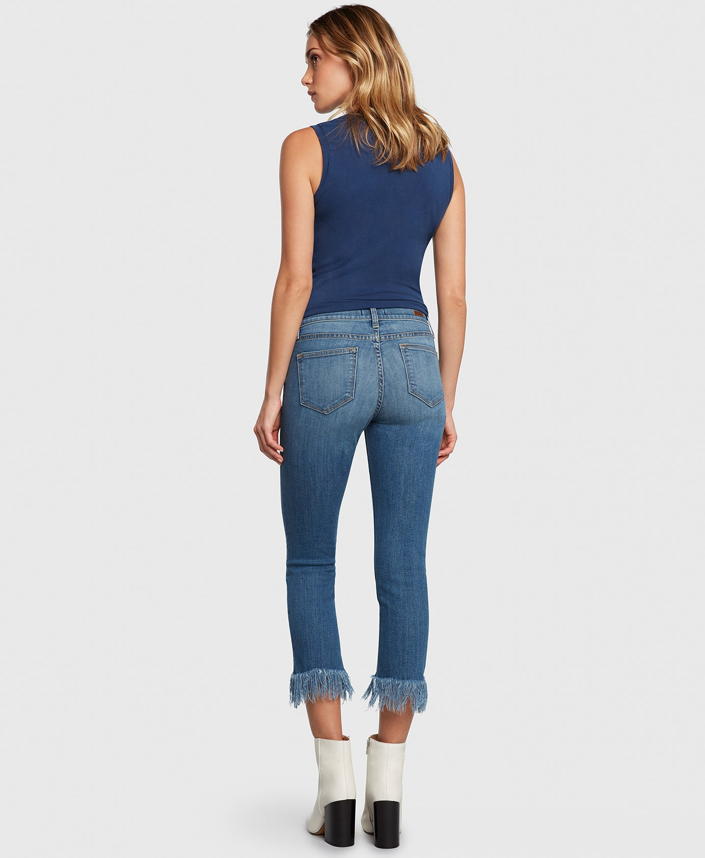 Principle OPTIMIST in True cropped jeans back