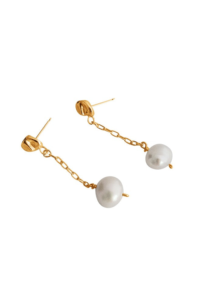 Keshi & Cast Pearl Earrings