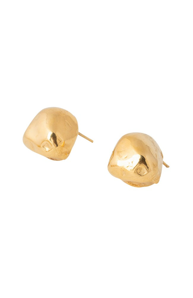 Oversized Cast Pearl Studs