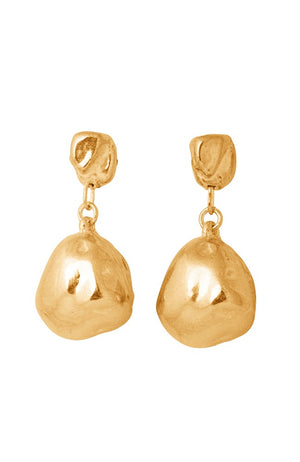Cast Freshwater Pearl Drop Earrings 001