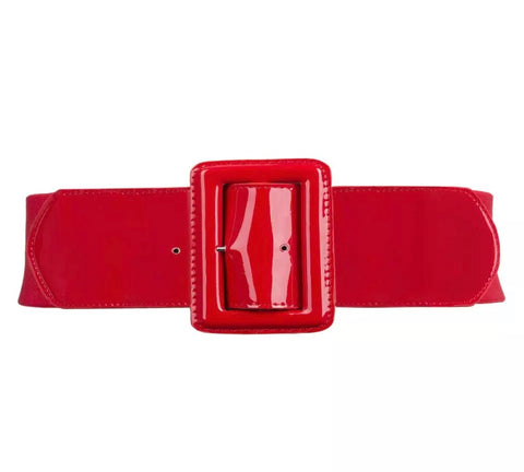 PU Elastic Belt - Red
