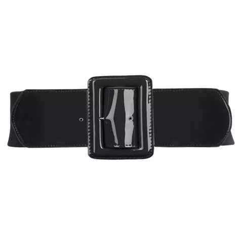 PU Elastic Belt - Black