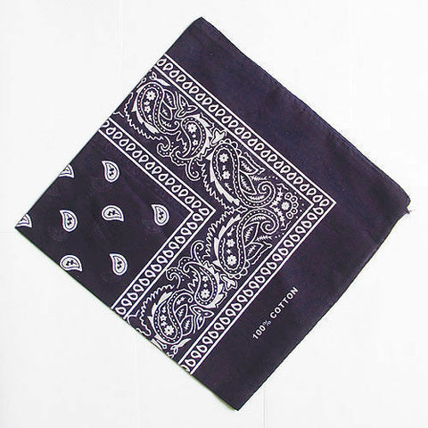 Bandana - Dark Navy Blue