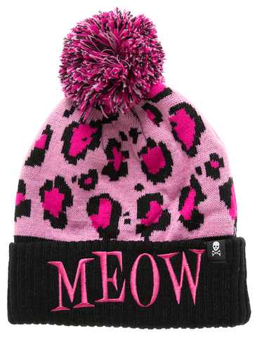 Knit Hat - Meow