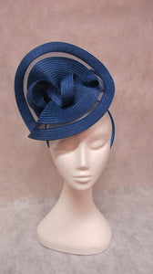 jendi mindnight blue fascinator