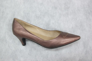 chrissie prima in metallic bronze