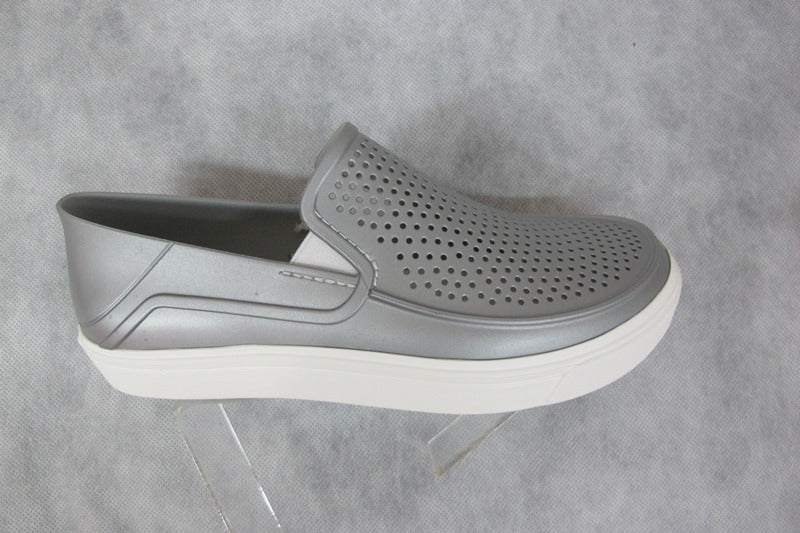 crocs citilane roka in metallic silver