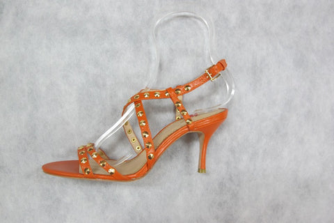 zizi encrusted in peach (orange)