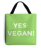 Tote Bag - Yes Vegan!